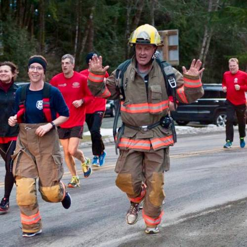 Wounded Warriors Run 2017